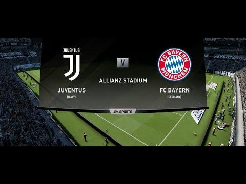 FIFA 19 JUVENTUS V BAYERN MUNICH XBOX ONE S / PS4 GAMEPLAY