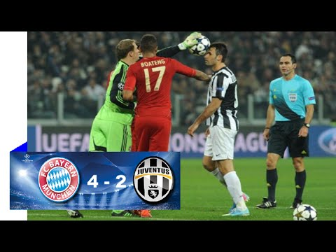 Bayern Munchen vs Juventus 4-2 Full Match Highlights 16.3.2016