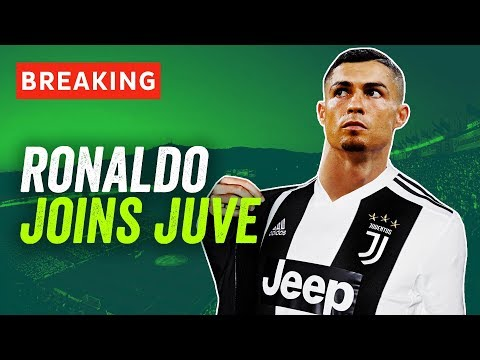 Cristiano Ronaldo signs for Juventus for €100M! Here's what happens now…