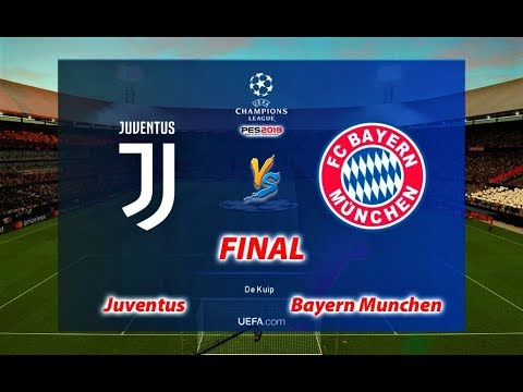 JUVENTUS vs BAYERN MUNCHEN | FINAL UEFA Champions League 2019 | PES 2019 Gameplay
