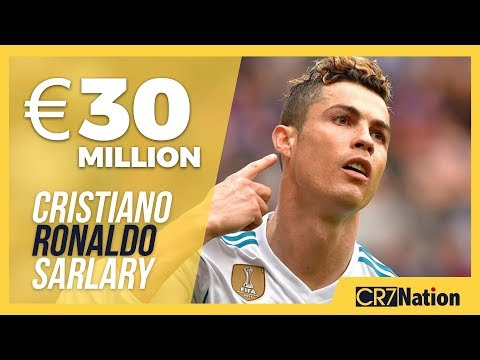 Cristiano Ronaldo Salary at Juventus in 2019 | Yearly, Monthly and Weekly