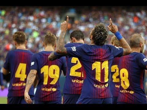 Barcelona vs Juventus, International Champions Cup 2017