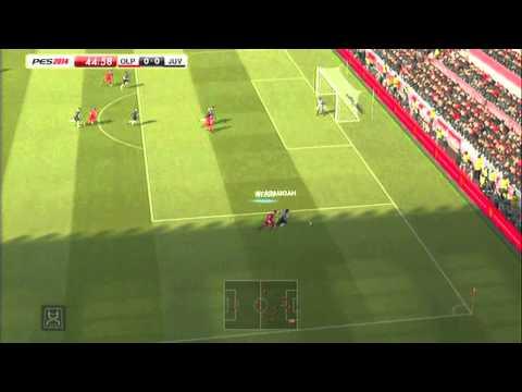 PES 2014: Juventus vs Olympiacos + Penalty Shootout
