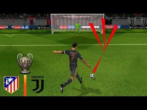 Champions League – Juventus vs Atletico Madrid | Dream League Soccer 2019 Penalty