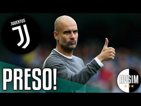 Guardiola ha firmato con la Juventus ||| Mercato Avsim