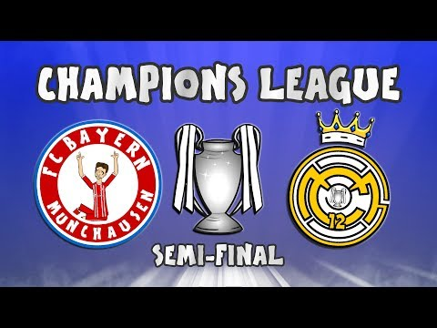 🏆BAYERN MUNICH vs REAL MADRID🏆 (Champions League Semi-Final 2018)