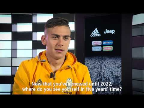 Dybala renews Juventus contract until 2022 ENGLISH SUBTITLED interview by Juventus