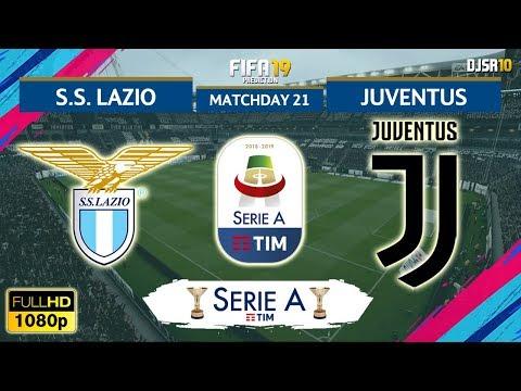 Lazio vs Juventus | Serie A 2018/19 | Matchday 21 | 27/01/2019 | FIFA 19