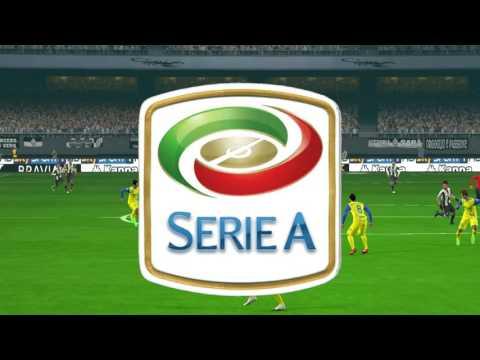 Juventus vs Chievo Verona | Full Match Football 2017 | PES Gameplay PC