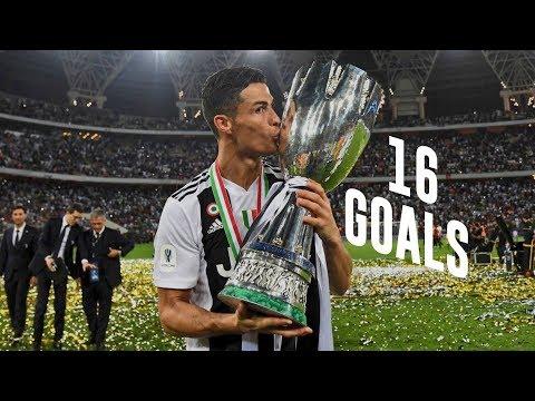 Cristiano Ronaldo – All 16 Goals For Juventus