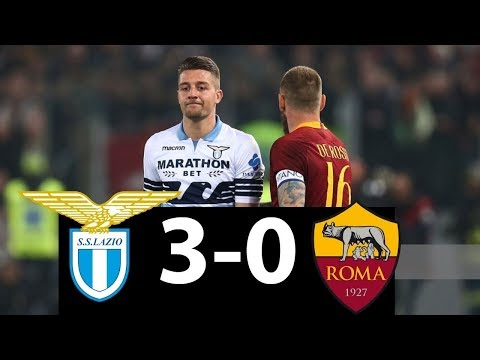 Lazio 3 – 0 AS Roma  All Goals & Extended Highligts   FULL MATCH  3/februari/2019