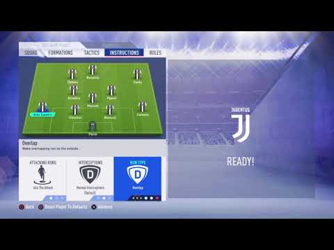 FIFA 19 Juventus review – Best formation, Best tactics and instructions