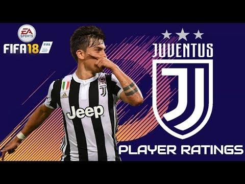 FIFA 18 – Juventus Player Rating