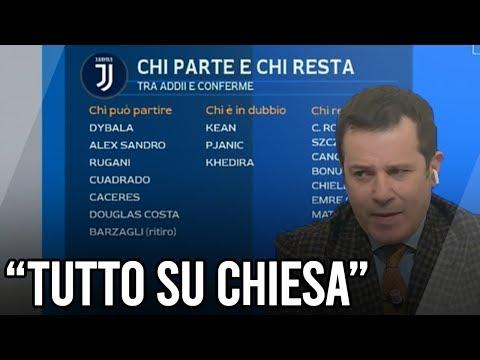 """PEDULLA': """"Ecco chi parte e chi resta! JUVENTUS forte su CHIESA"""" – Calciomercato"""