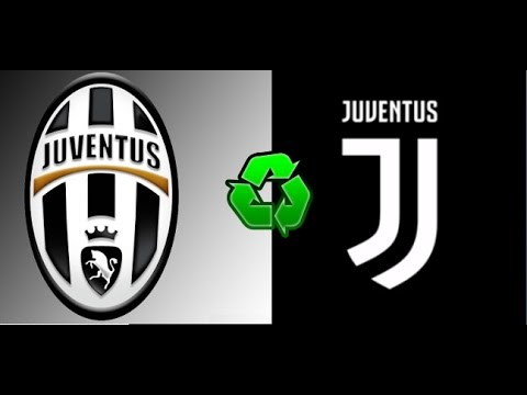 🔴 Juventus New Logo 2017 (Black and White and More)