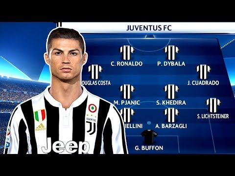 How Juventus Could Line Up With Cristiano Ronaldo ? PES 2018 Gameplay PC