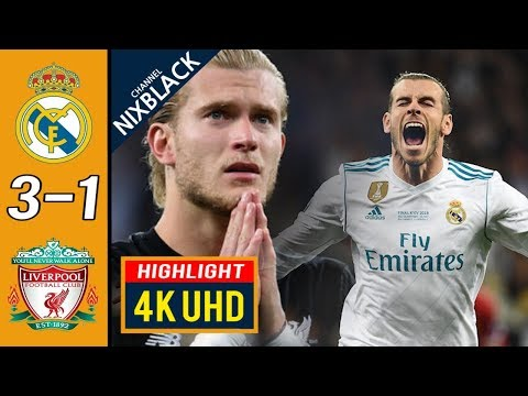 Real Madrid 3-1 Liverpool 2018 Champions League Final All goals & Highlights 4K/UHD