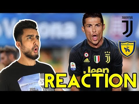 IS CR7 THE GOAT? MATCH REACTION: JUVENTUS VS CHIEVO VERONA (3-2)