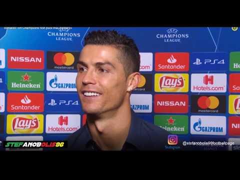 Intervista a Cristiano Ronaldo ⚽ Juventus Vs Manchester United 1-2 ⚽ 2018\2019 ⚽ HD #Ronaldo