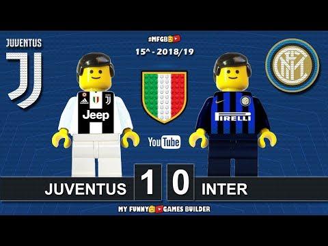 Juventus vs Inter 1-0 • Serie A 2018/19 • Sintesi 07/12/18 • All Goal Highlights Lego Football