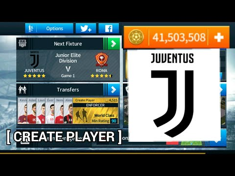 JUVENTUS 2018 – 19 NEW UPDATE   ALL PLAYERS 100%   DREAM LEAGUE SOCCER 2018