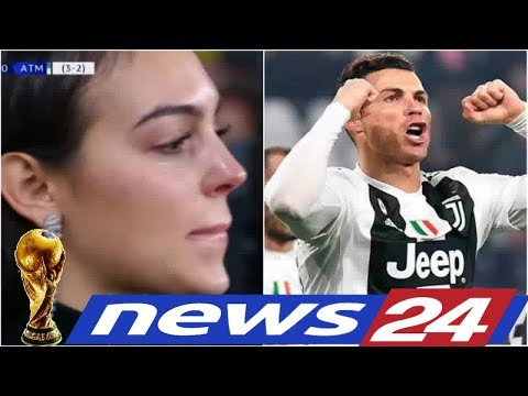 News24 –  (Photos) Georgina Rodriguez in tears as Cristiano Ronaldo fires Juventus past Atletico Mad