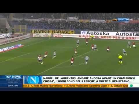 Roma – Juventus 1-1 Highlights Sky Sport 24 12/12/2011