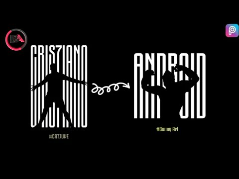Make a Logo Like CR7 Juventus logo | Picsart TutorialPicsart,by bunny art