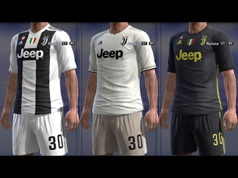 JUVENTUS DLS Kits Download