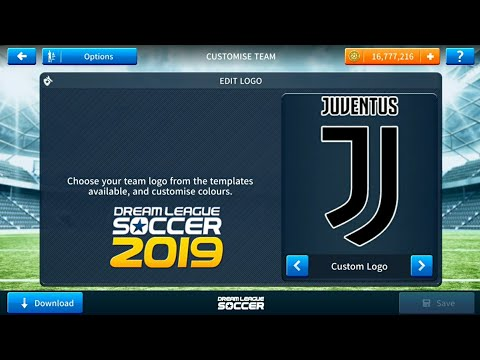 How To  Juventus Logo And. kits Dream league Soccer 2019
