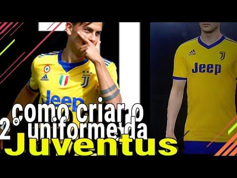 Como criar o 2° uniforme da Juventus pes 2018(x box 360, PS3)
