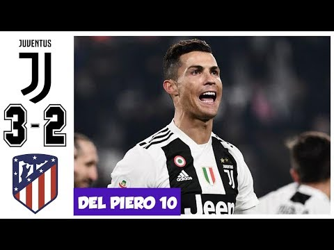 Juventus vs Atletico Madrid 3-2, All Goals and Highlights – Ronaldo Hattrick – UCL 2018/2019