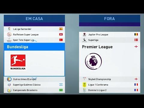 PES 2019 PS4 Option File V1 ( All logo , Kits Premier , Juventus and