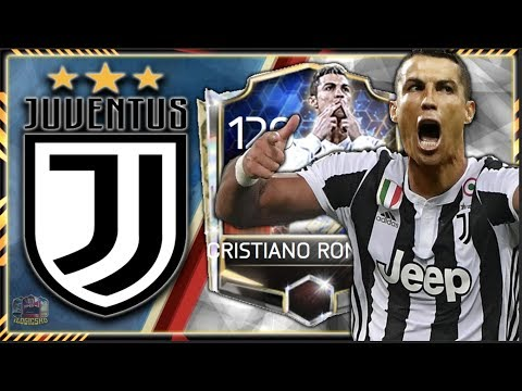 RONALDO CR7 JUVENTUS TRANSFER | FIFA MOBILE 18 RONALDO CR7 JUVENTUS SQUAD BUILDER GAMEPLAY!