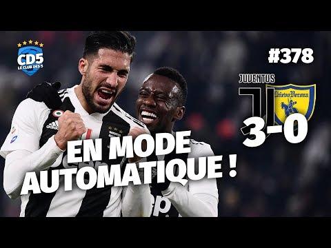 Replay #378 : Débrief Juventus vs Chievo (3-0) / Genoa vs Milan (0-2) – #CD5