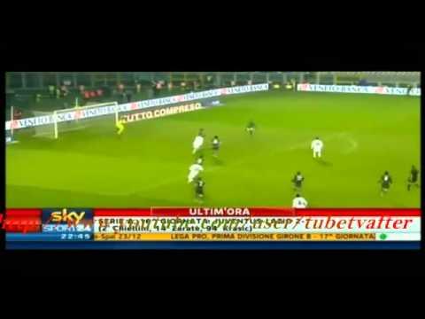 Juventus vs Lazio 2-1 HIGHLIGHTS AMPIA SINTESI  SKY HD 16 giornata 12 12 2010