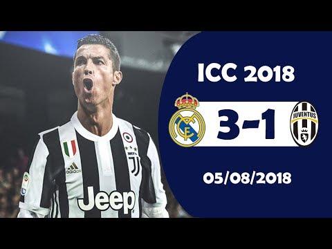 Real Madrid vs Juventus 3-1 Highlights | International Champions Cup 5/8/2018