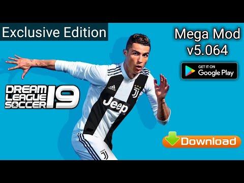 Dream League Soccer 19 v5.064 Ronaldo Juventus Edition Mod (All players power 100)