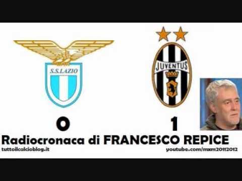LAZIO-JUVENTUS 0-1 – Radiocronaca di Francesco Repice (26/11/2011) da Radiouno RAI