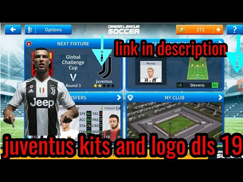 How to get Juventus kits and logo dls 19