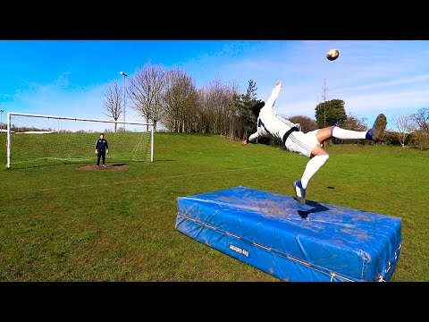 SCORING CRISTIANO RONALDO'S INCREDIBLE BICYCLE KICK GOAL ft. Chris MD