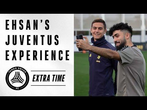 Ehsan's Juventus Experience feat. Paulo Dybala & Miralem Pjanić | Tango Squad FC