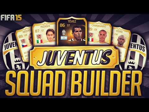 Fifa 15 Most Expensive Best Possible Juventus Squad Builder Ultimate Team