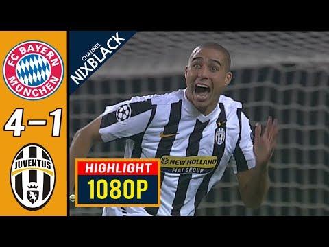 Bayern Munich 4-1 Juventus 2010 CL All goals & Highlights FHD/1080P