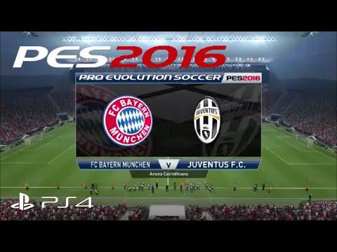 PES 2016 | EXCLUSIVE PS4 Gameplay | FC Bayern Munich Vs Juventus F.C.