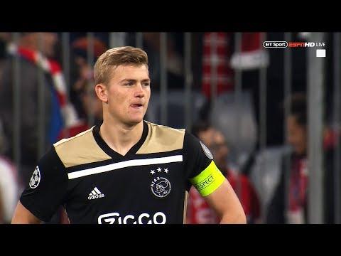 Matthijs de Ligt Against Bayern | 2018