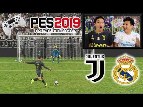 ¡¡RETO PES 2019!! Penaltis con CASTIGO 😱 JUVENTUS vs REAL MADRID