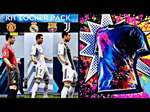 HOW TO UNLOCK ALL KITS ! Barcelona,Real Madrid,Man Utd,Juventus kits packs fifa mobile 19