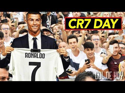Locura total, así fue el primer día de Cristiano en la Juve I CR7 le canta a la Juventus