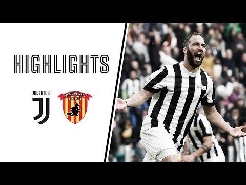 HIGHLIGHTS: Juventus vs Benevento 2-1 – Serie A – 05.11.2017